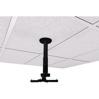Suspended Ceiling Projector Mounts - Universal Suspended Ceiling Mount Projector Kit