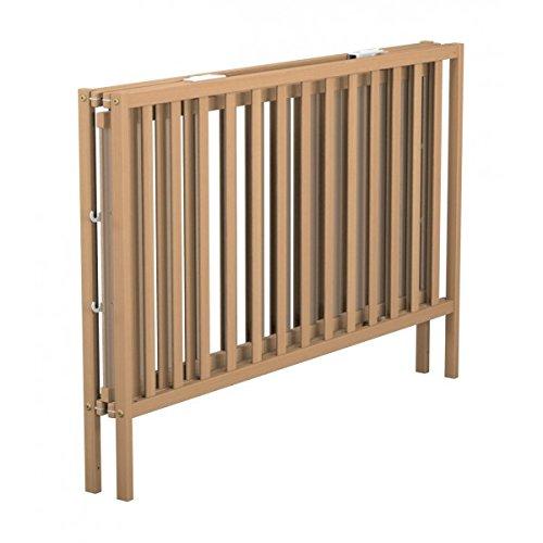 Lit b/éb/é pliant en bois h/être vernis Baby Fox 60 x 120 cm