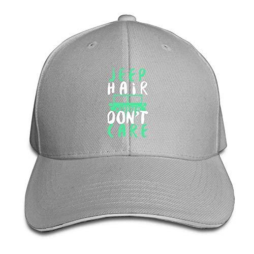 YALING Sandwich Baseball Caps Unisex Trucker Style Hats Jeep Hair Don