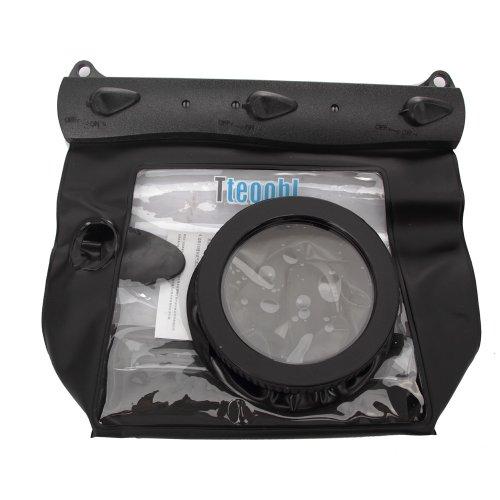 Tteoobl New Black 65 Feets Underwater Waterproof Case DSLR SLR For Canon 5D III 5D2 7D 60D 600D Nikon D700 D5100 (M by Tteoobl
