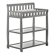 Dream On Me Ashton Changing Table, Steel Grey