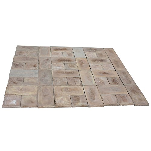 72 sq. ft. Concrete Rundle Stone Brown Paver Kit by Natural Concrete Products Co.