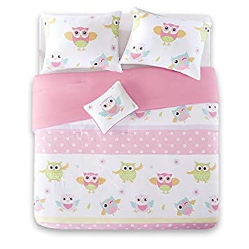 Kids Essentials 3-4 Piece Soft Quilt Coverlet Set with Dec Pillow Twin//Full