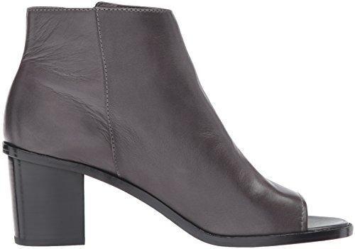 Polished Full Soft Peep Boot US Grain FRYE Bootie 10 Brielle M Charcoal Women's Zip Wa0ZHg0F