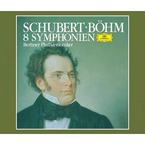 SACD : BOHM,KARL - Schubert: 8 Symphonies (Limited Edition, Direct Stream Digital, Super-High Material CD, Japan - Import, Single Layer SACD)