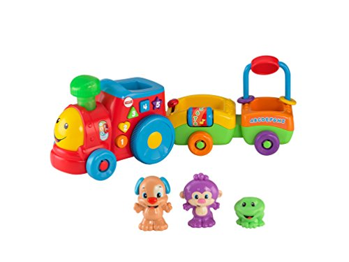 Fisher-Price Laugh & Learn Puppy's Smart Train ()