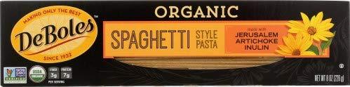 DeBoles Organic Jerusalem Artichoke Spaghetti Style Pasta (3 pack)