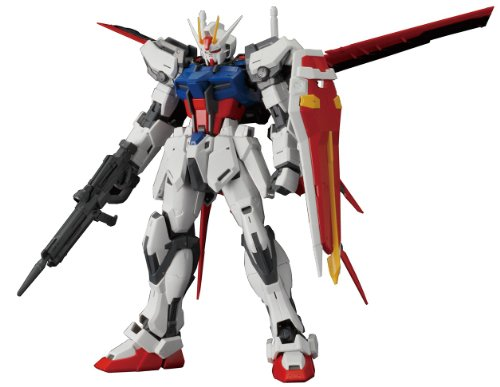 (Bandai Hobby MG Aile Strike Gundam Ver. RM 1/100 Scale Action Figure Model)