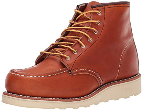 Red Wing Heritage Women's 6 INCH MOC-W Work Boot, Oro Legacy, 7 B US (Red Wing Moc)