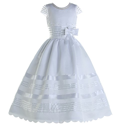 Honey Qiao Sweet First Holy Communion Dress Flower Girl (Holy Communion Dresses Shops)