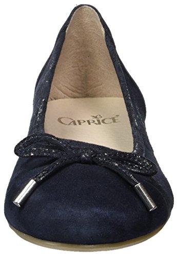 ocean 22105 Caprice Femme Ballerines Bleu Comb gIw1q
