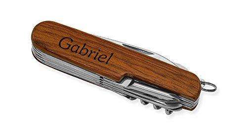 Dimension 9 Gabriel 9-Function Multi-Purpose Tool Knife, Rosewood