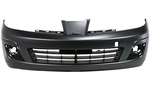 nissan versa front bumper - 1