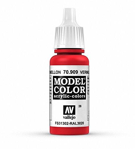 Vallejo Acrylic Paint, C. Red Vermillion