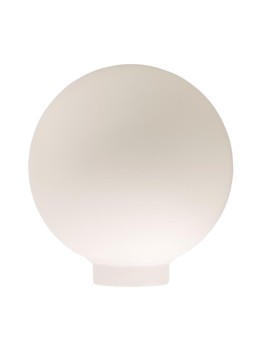 Verrerie Globe D100 p.vis 31, 5mm Opaline