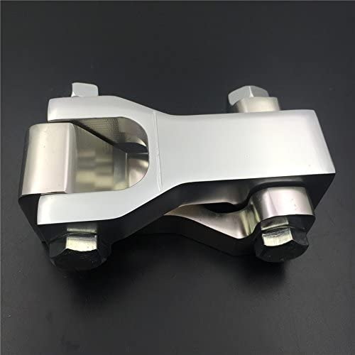SEMT Original stock A-Arms Only Motorcycle Silver Front 3.5 Lowering Kit Compatible With Kawasaki KFX 450R B074MKLRJ8