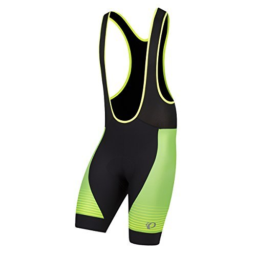Pearl Izumi Pro Pursuit Graphic Bib Shorts, Screaming Yellow Diffuse, - Shorts Bib Pro