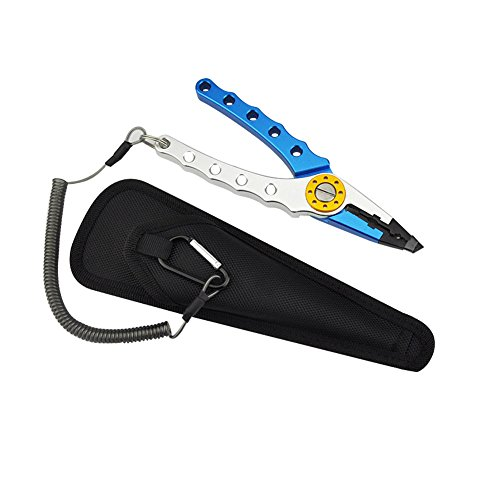 SUN FLOWER TOOLS Aluminum Fishing Pliers Hook Remover Braid Cutters by SUN FLOWER TOOLS