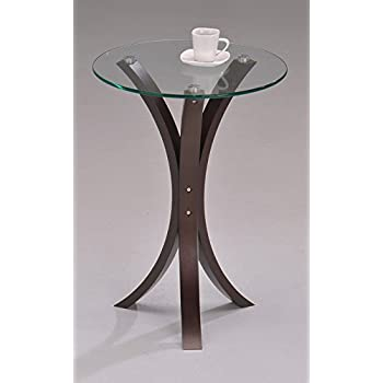 Amazon Com Round End Table For Living Room Furniture Of