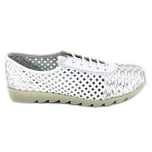 Up Over Lace Womens Shoe Drive The Silver White Flexx wXx1qzzH