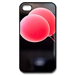 Hard Shell Case Of Balloon Customized Bumper Plastic case For Iphone 4/4s