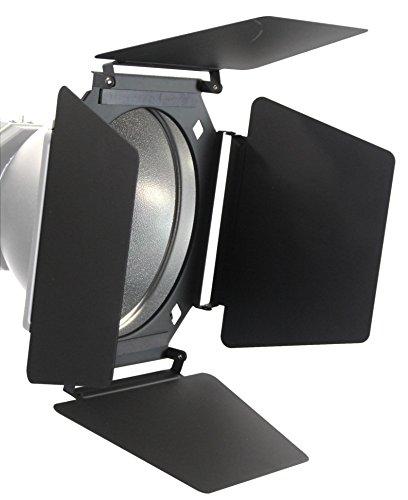Barndoor 4 Vane w/ Magnetic Gel Holder by ALZO Digital