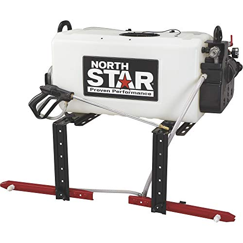 Deluxe Boom Sprayer - NorthStar Broadcast and Spot Sprayer with 2-Nozzle Boom- 26-Gallon Capacity, 2.2 GPM, 12 Volts