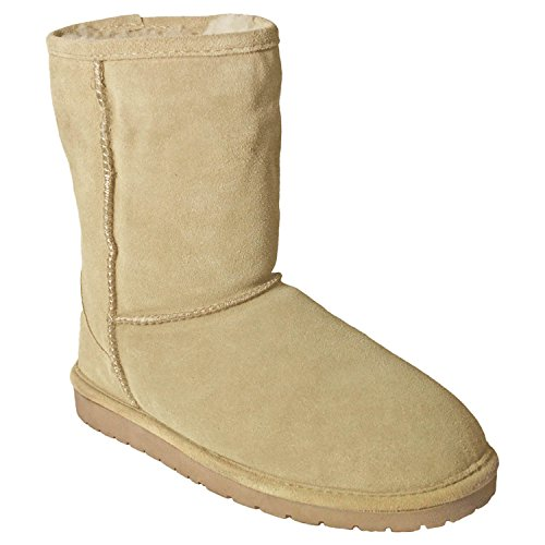 DAWGS Womens 9-Inch Suede Boot Natural