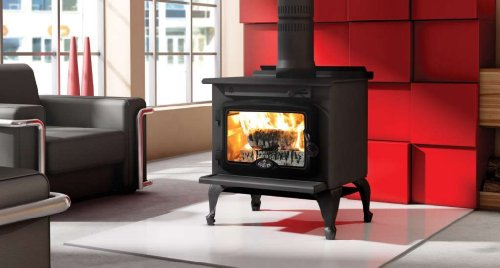 Direct Vent Wood Fireplace (Osburn 900 Wood Stove)