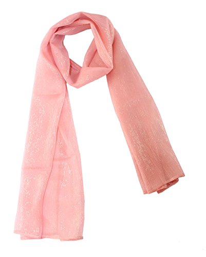 Lurex Silk Chiffon Scarf for sale  Delivered anywhere in USA