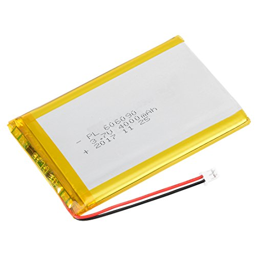uxcell Power Supply DC 3.7V 4000mAh 606090 Li-ion Rechargeable Lithium Polymer Li-Po Battery