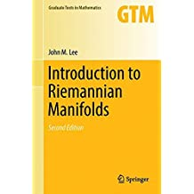 Introduction to Riemannian Manifolds