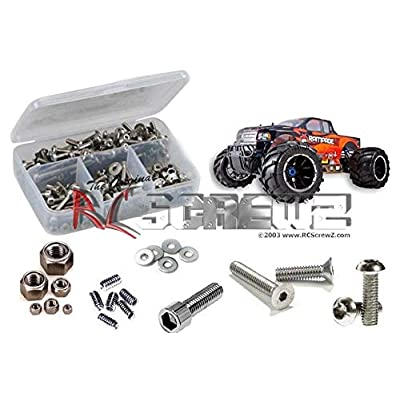 RCScrewZ RedCat Racing 1/5 Scale Rampage MT V3 Stainless Steel Screw Kit, Complete Replacement for RC Car Rusted and Stripped Screws, Race Quality Upgrade, Assembled in USA. rcr043: Toys & Games