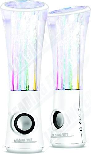 Water Dancing Speaker X3 -White by Leading Edge Novelty