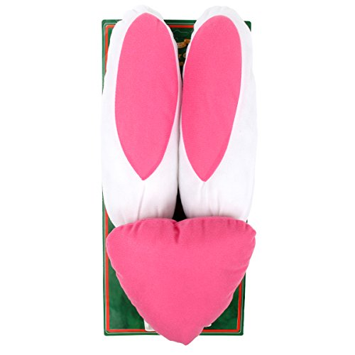 bouti1583 Car Vehicle Decorations Easter Bunny Costume Ears and Nose (Holiday Car Costume)