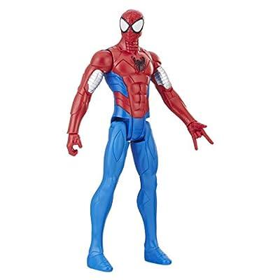 Spider-Man Titan Hero Series Web Warriors: Armored Spider-Man: Toys & Games
