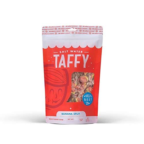 Taffy Shop Banana Split Salt Water Taffy - 1/2 LB Bag