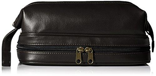 Dopp Men's Jumbo Framed Travel Kit with Bonus Items, black
