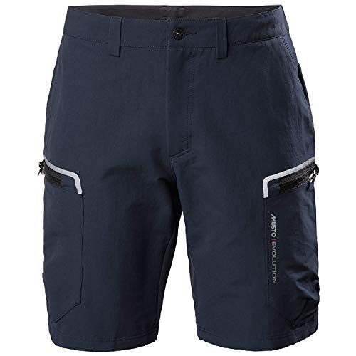 Musto Mens Evolution Performance 2.0 Sailing Boating Watersports Shorts – True Navy – Easy Stretch