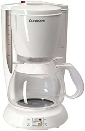 Amazon.com: Cuisinart DCC-100 Coffee Bar Classic 10-Cup Coffeemaker, White: Drip Coffeemakers: Kitchen & Dining