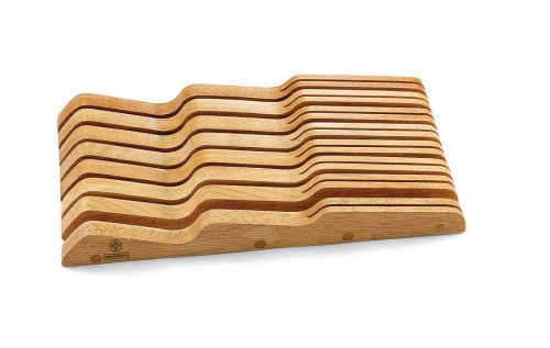 Mundial Solid Wood In-Drawer Knife Storage Tray, Large by Mundial (Image #1)