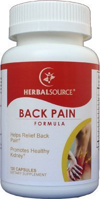 Back Pain Formula - Helps Relief Low Back Pain & Stiffness, 120 ()