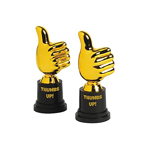 Fun Express Thumbs UP Award Trophies (1 Dozen) - Bulk]()
