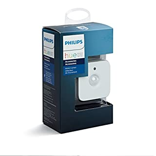Philips Hue Smart Motion Sensor (Installation-Free Exclusive for Philips Hue Lights), Hue Hub Required