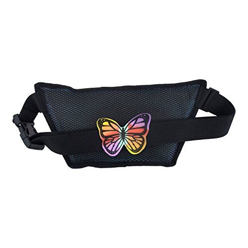 770dcf1c8e78 DAN-PAK CLEAR FLASK FANNY PACK BY HYDRATION WAIST PACK SEE THROUGH ...