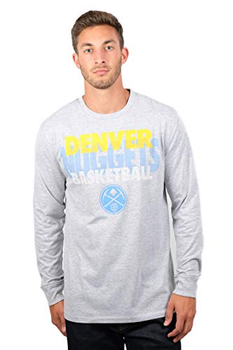 UNK NBA Adult Men T Supreme Long Sleeve Pullover Tee Shirt, Gray, Large ()