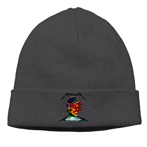 EWIED Men's&Women's Metallica Hardwired To Self-Destruct Patch Beanie RowingBlack Cap Hat For Autumn And (Alias Cap)