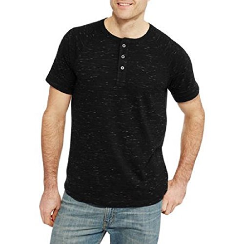 Faded glory faded glory men 39 s fashion short sleeve henley for Faded color t shirts