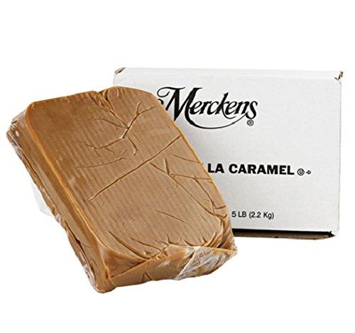 Merckens Vanilla Caramel Block-5 Lb. by Merckens