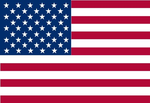 (Valley Forge Flag 6-Foot by 10-Foot Nylon United States Flag Sewn Stripes and Embroidered Stars)